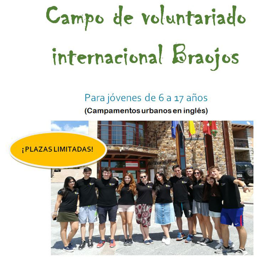 campo voluntariado ingles 2019 braojos